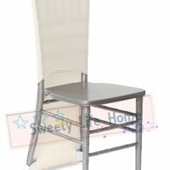 Chair Caps Covers Lazy Boy Swivel Lycra Spandex Chiavari Ivory Wedding Strech Outdoor Slub For Party Events Decorations White Slipcovers Sofa