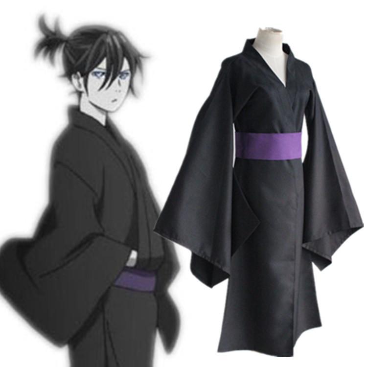 noragami yato black kimono