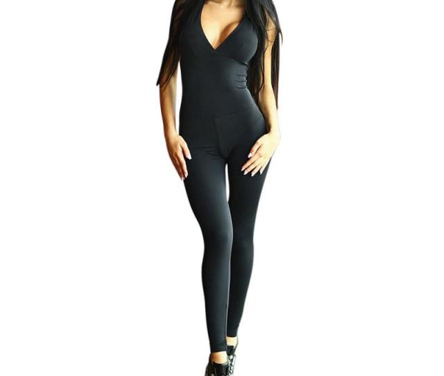 2018 Sexy Women Yoga Workout Gym Sports Fitness Tight Leggings Pants Jumpsuits Athletic Training Clothes Pants Cross Straps Bra From Wudun 34 15 Dhgate