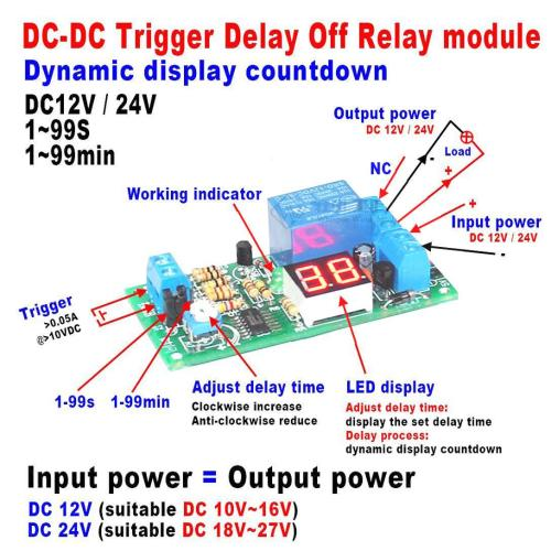small resolution of 2019 dc 12v led display digital delay timer control switch turn off relay module for car from zhenyuan666 18 34 dhgate com