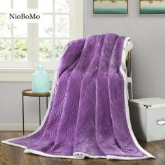 Xl Sofa Throws Harris Tweed Bowmore Niobomo Light Luxury Purple Blanket Elegant Comfortable Coral Fleece Bedspread For Bed Home 3 Size Teal Throw Twin Cotton