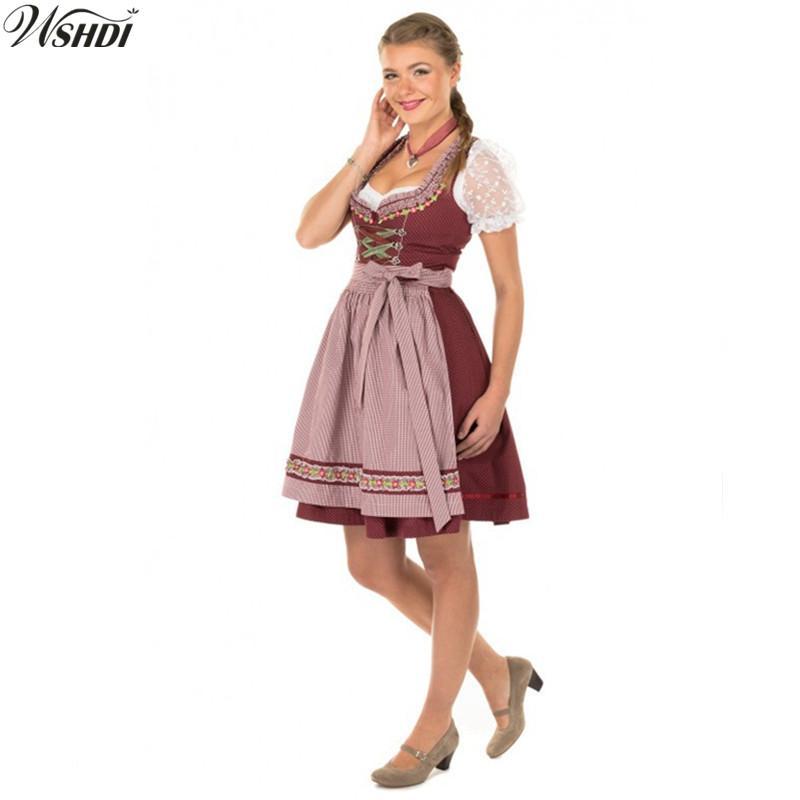 traditional women german oktoberfest
