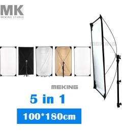 5 in 1 lighting photo reflector 100 180cm jpg [ 1000 x 1000 Pixel ]