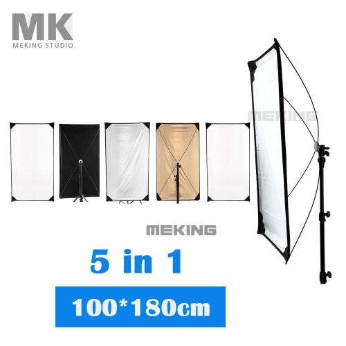 small resolution of 5 in 1 lighting photo reflector 100 180cm jpg