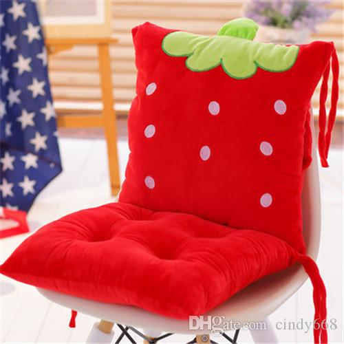 chairs cushion pads flip out chair sleeper cartoon for office sofa seat cushions kitchen embroidered car and pillow outside large