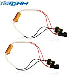 2019 h4 h7 h8 h11 9005 hb3 9006 hb4 led bulb decoder resistor 50w canbus error canceller wire harness adapter for car fog light from pubao 34 58 dhgate  [ 1000 x 1000 Pixel ]