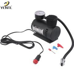 2018 air compressor 12v tire inflator toy sports car auto electric pump mini new12v 300psi car [ 1010 x 1010 Pixel ]