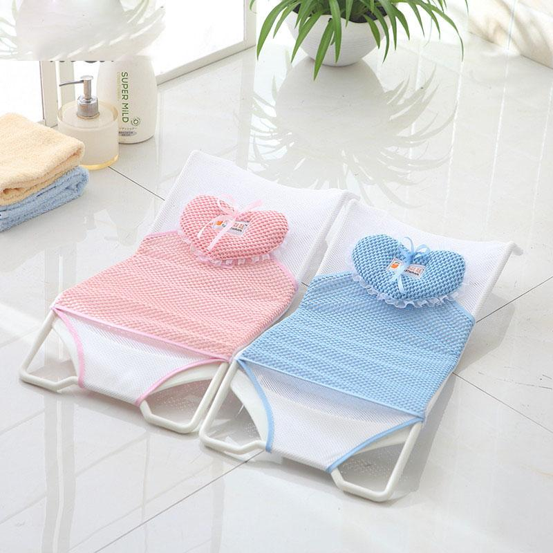 bath chair for baby best big and tall office reviews 2019 new design foldable tub bed pad shelf shower nets newborn seat infant bathtub support from newyearable 47 63 dhgate com