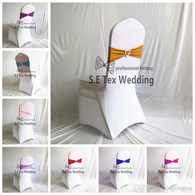 wedding chair covers hire prices baby cover cheap price white flat front spandex with lycra band sash and rental for receptions
