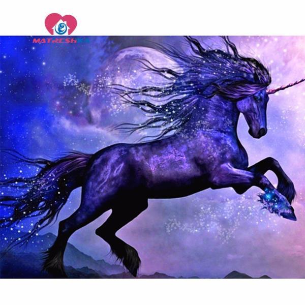 Diamond Unicorn Painting