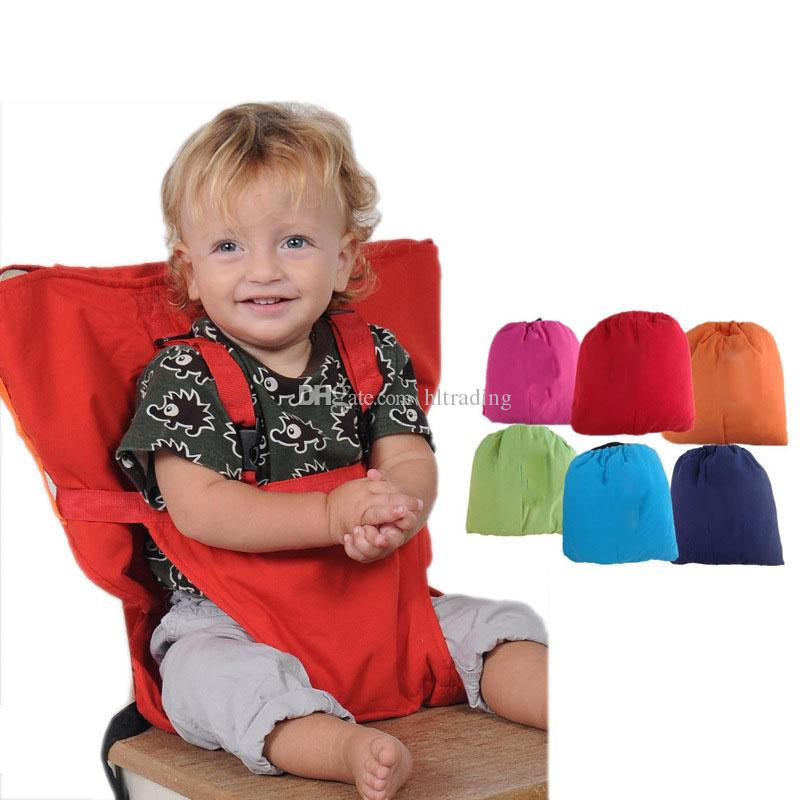 portable high chair baby ergonomic with lumbar support 2019 sack seats shoulder strap infant safety seat belt toddler feeding cover harness dining c3560 from hltrading