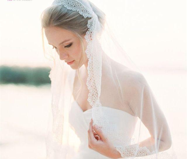 Elagant One Layer  Meter Long Bridal Veil  Lace Appliques Vestido De Noiva Brautschleier Wedding Veil Veu De Noiva Longo Red Wedding Veil Shoulder