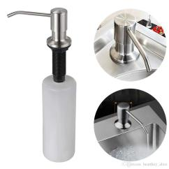 Kitchen Dish Soap Dispenser Best Degreaser 2019 Hot Sink Stainless Steel 350ml 12 Oz Built In Hand Lotion Pump From Heartkey Alice