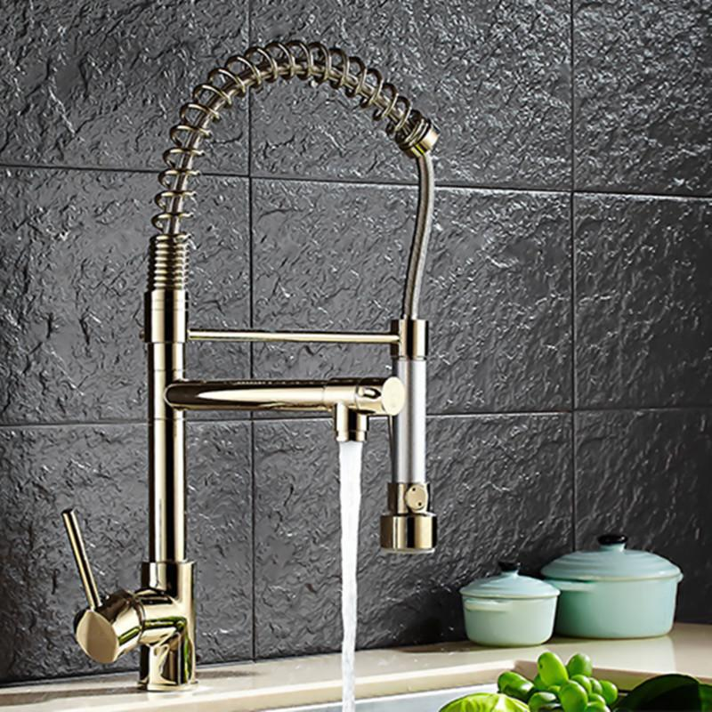 top kitchen faucets making cabinet doors 2019 quality three way faucet with polished gold sink of solid brass golden from hymen 252 16 dhgate com