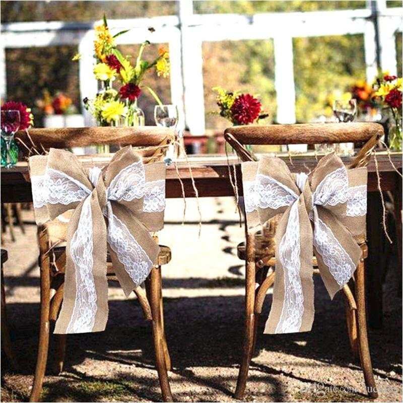 burlap chair covers for sale attractive office mat 2019 hot sashes bow cover weddings events party banquet christmas decoration 0246 from luckies 2 79 dhgate com