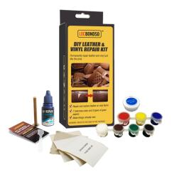 Diy Sofa Repair Sectional Miami 2019 Locbondso Automotive Car Seat Leather Vinyl Kit Restoration Tool For Holes Scratch Damage Coats From
