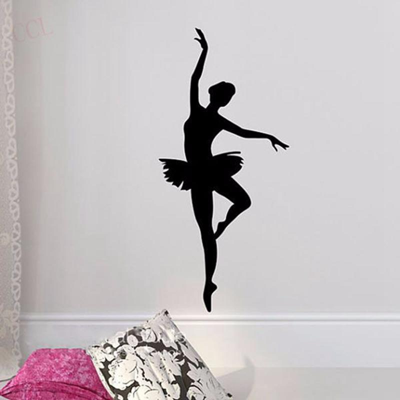 tattoo ballerina wall sticker