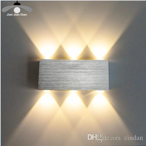 wall fixtures for living room designs 2019 led lamp modern sconce stair light fixture bedroom bed bedside indoor lighting home hallway loft silver from cindan 7 95 dhgate