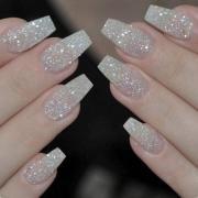 box ballerina nails acrylic false
