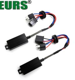2019 eurs h1 h4 h13 h7 h8 h11 hb3 9005 hb4 9006 led decoder resistor canbus harness adaptor for headlight bulbs light error free from niumou  [ 1000 x 1000 Pixel ]
