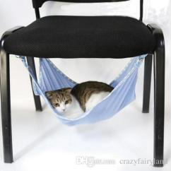 Cat Hammock Under Chair Dining Seat Covers Canada 2019 Cats Summer Portable Pets Breathable Air Mesh Multifunction Beds 53 38cm From Crazyfairyland 3 25 Dhgate Com