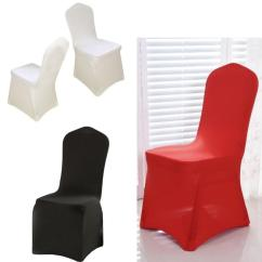 White Universal Chair Covers Folding Leg Caps 7/8 Spandex Wedding Party Cheap Wholesale Best Navy Blue For Weddings