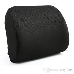 Lower Back Support For Chair Patterned Fabric Club Chairs 2019 Lumbar Office Relax A Bac Cushion Pillow With Wooden Board And Stra From Why0805