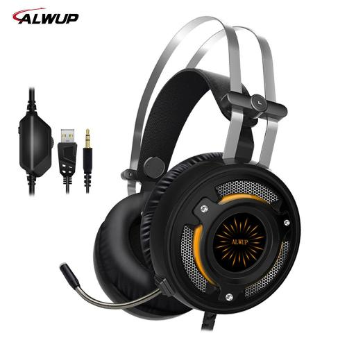 small resolution of alwup 2 2m wired gaming headphone ps4 with mic gaming headset xbox one with led light headphones with microphone noise cancelling from aralia