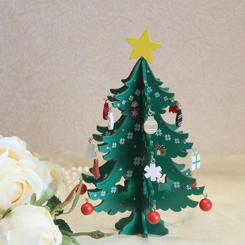 Christmas Tree Decorations Cartoon