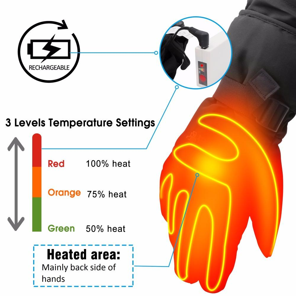 hight resolution of black winter warm heated gloves 3 7v touch rechargeable battery heated gloves for men women cycling hiking outdoor activities best smart watches ios