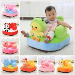Stuffed Animal Chair Dining Room Set With 6 Chairs 2019 Infant Safety Seat Soft Baby Sofa Plush Cushion Feeding Learning To Sit Kids Back Support Toy From Sophine13