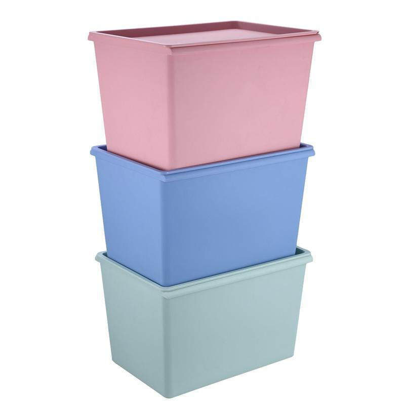 acheter boite de rangement en plastique empilable avec organisateur de contenants en tissu carres de 22 76 du georgely dhgate com