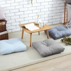 Chairs Cushion Pads Iron Outdoor Japan Style Cotton Linen Seat Mat For Floor Chair Sofa Home Office Decorative Square Pad Cojines Decorativos Sitting Furniture
