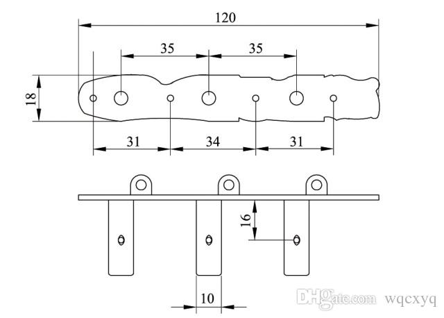 3L3R Classical Guitar String Tuning Pegs Machine Heads