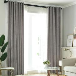 Simple Living Room Curtains Ideas Brown And Cream Sofa 2019 Thick Solid Color Nordic Modern High End Bedroom Blackout Curtain Fabric To Choose From Samul 28 95 Dhgate Com