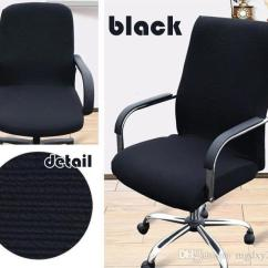 Office Chair Covers To Buy Spiderman Table And Chairs Elastic Cover Seat For Computer Stretch Armchair Covering Modern Dining Protector Slipcover Yz0002 White