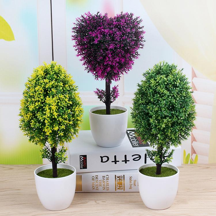 artificial plants for living room decorations rooms 2019 fake peace tree set potted small bonsai creative desktop decorative ornaments c18111501 from mingjing02