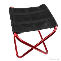 Wholesale Folding Chairs Saarinen Womb Chair Replica Portable Aluminium Alloy Outdoor Picnic Camping Hiking Fishing Bbq Garden Stool Foldable Seat Cheap Gear