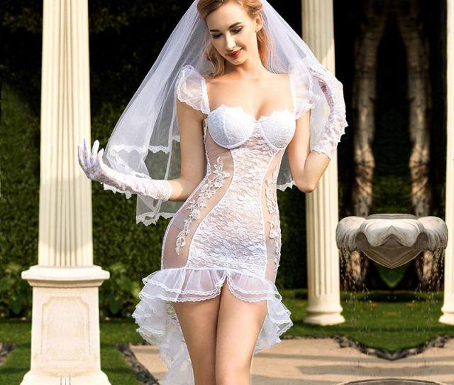 2019 New Porn Women Lingerie Sexy Hot Erotic Wedding Dress Cosplay White Tenue Sexy Underwear Erotic Lingerie Porno Costumes 6325 From Kennethy