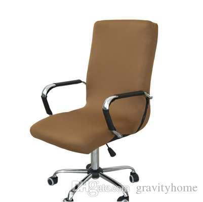acheter housse de chaise d ordinateur de bureau elastique housse de chaise de bras lateral recouvre chaise d ascenseur rotatif d etirement sans chaise de