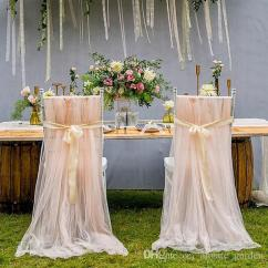 Chair Covers And Sashes High Bar Table Set Wedding Romantic Oceanfront Garden Back Bows Banquet Decor Xmas Birthday Favors Supplies Sash Belt