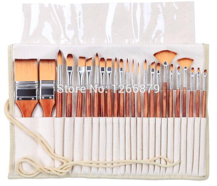 paint brushes set acrylic