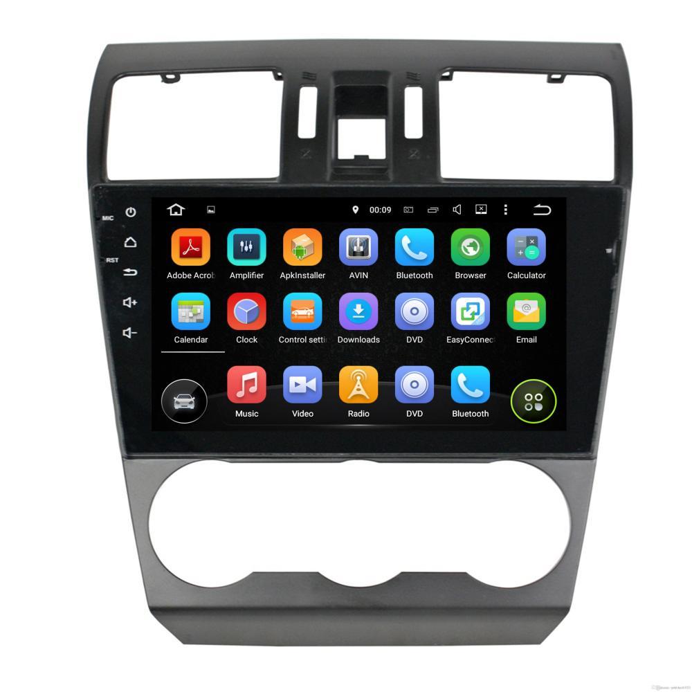 medium resolution of car radio android 7 1 quad core 9 car dvd audio player for subaru forester 2013 2015 2016 with 2gb ram radio gps wifi bluetooth 16gb rom car dvd player car