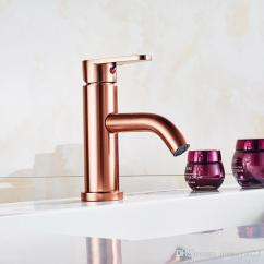 Gold Kitchen Faucet Ikea Countertop Installation Modern Style Rose Cold And Hot Water Mixer Tap Cheap Used Faucets Best Wall Mounted