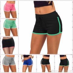 Short Gym Couleur Chair Posture Strap Women Cotton Yoga Sports Shorts Leisure Homewear Fitness Pants Drawstring Summer Beach Running Exercise Aaa25 Girl Boy Tan