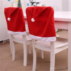 Christmas Chair Covers White Canyon Swing Queenstown Back Cover Decoration Navidad Hat Decorations For Home Dinner Table New Year Xmas Linen Slipcover