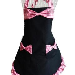 Cute Kitchen Aprons Childs Sexy Women Delicate Bowknot Red Black Hot Selling Waiter Baking Bar Cotton Apron Bib Canada 2019 From Galry Cad 20 44 Dhgate