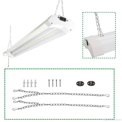 small resolution of 2019 linkable led utility shop light 4ft 4800 lumens super bright 40w 5000k daylight etl certified led garage lights fixture durable led fixture from