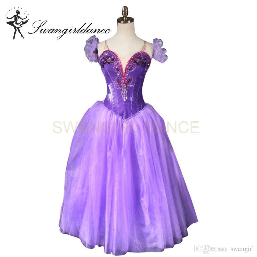 purple romantic ballet tutu
