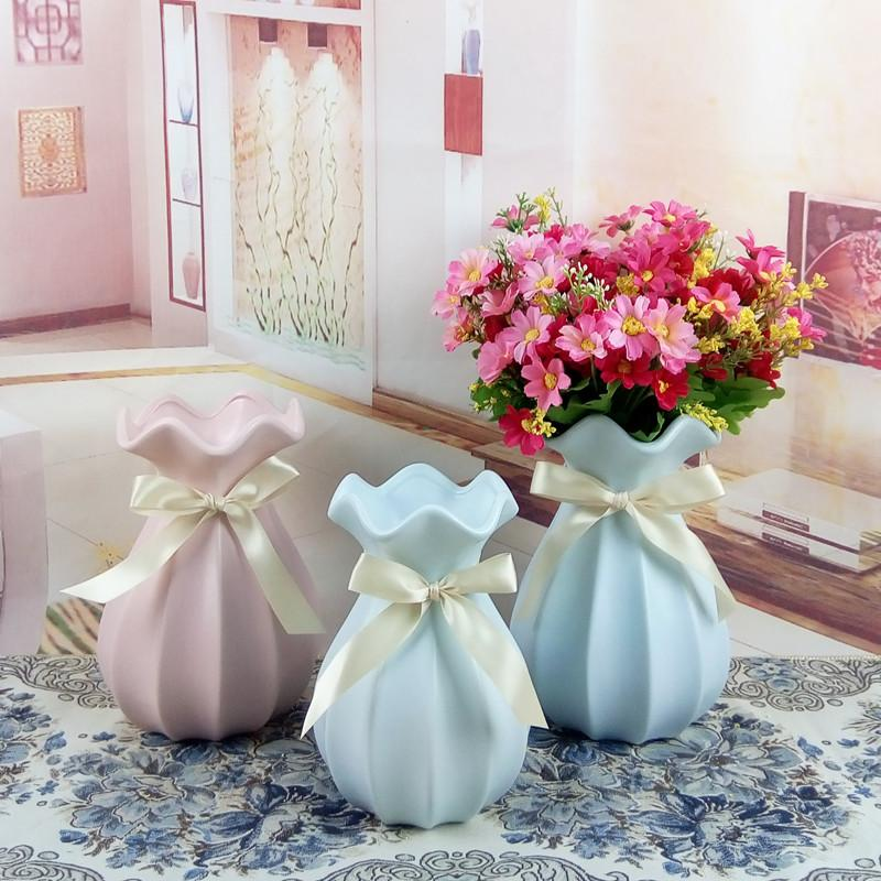 living room flowers happy colors for simple modern ceramic flower vase small fresh table home decoration arrangement hydroponic large decorative floor vases
